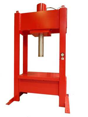 hydraulic press fixed table