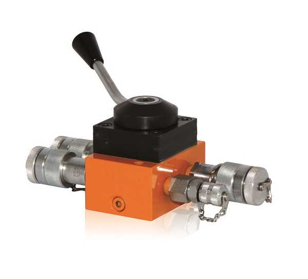 Manual control valves 1200-bar, indexed control valves DRM