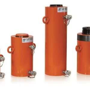 double-acting cylinder smooth piston hydraulic return DE.L