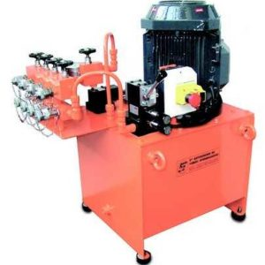 Dual speed electric motor hydraulic system EB.75