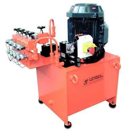 Dual speed electric motor hydraulic system EB.75