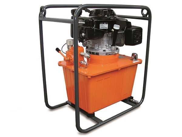 Hydraulic system T153, dual speed combustion engine system