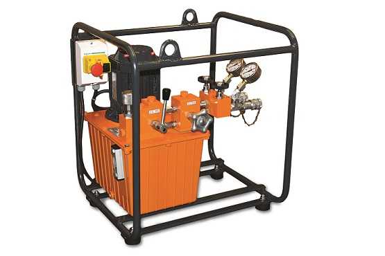 hydraulic system dual-speed electric motor E.153