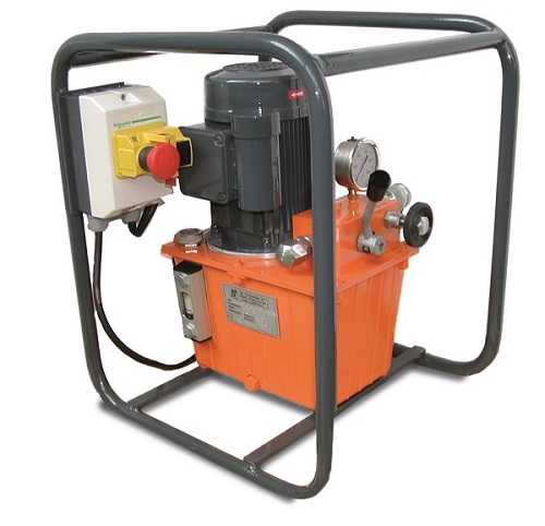 Hydraulic system automatic dual speed electric motor EB.037