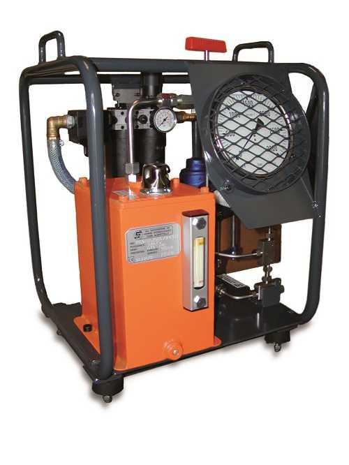 Hydropneumatic hydraulic system PN.9