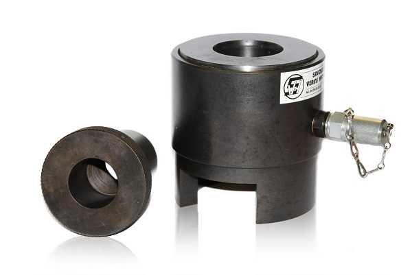 tensioning cylinder single-acting