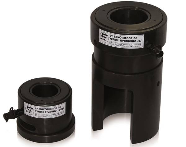 specific tensioning cylinder