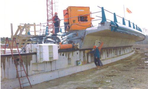 civil engineering, hydraulic cylinder
