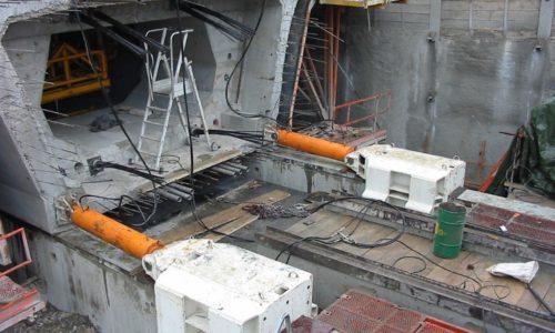 civil engineering, shifting segment hydraulic cylinder