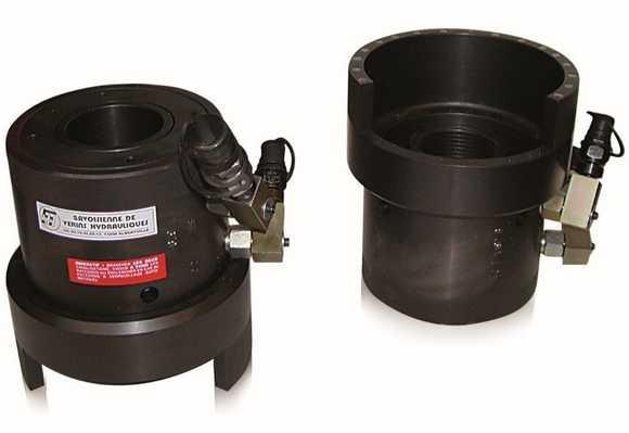Custom hydraulic chucking