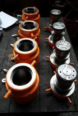 hydraulic equipment cylinder maintenance