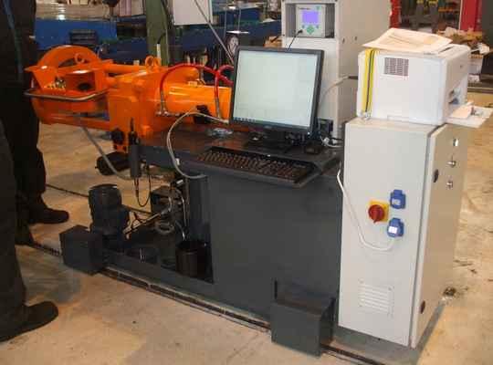 hydraulic press train axle bearings