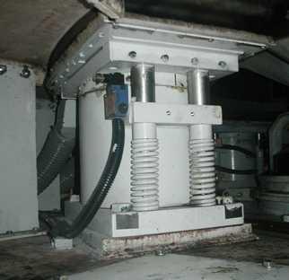 hydraulic system braking cylinder