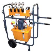 hydraulic system for lifting applications