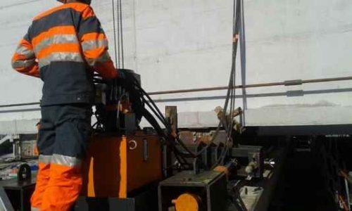hydraulic system lifting shifting civil engineering
