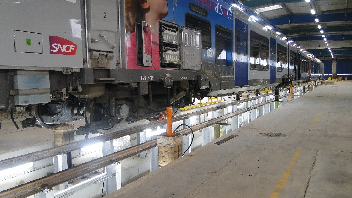 hydraulic cylinder train lifting