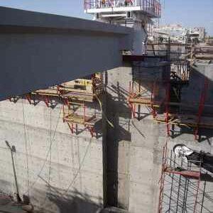 hydraulic unit for dam construction, civil engineering hydraulic system