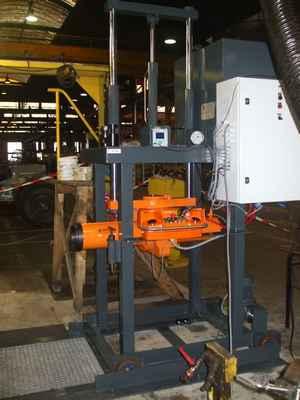 mobile hydraulic press railways sector