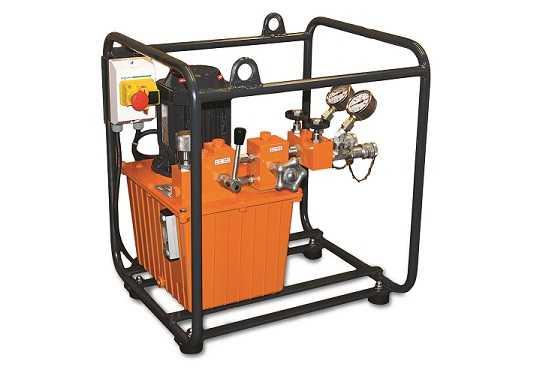 Centrale hydraulique 700 bar 2 vitesses E.153 700