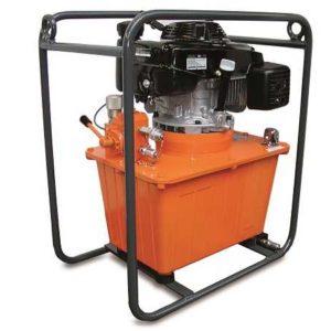 Centrale hydraulique à moteur thermique deux vitesses T.153