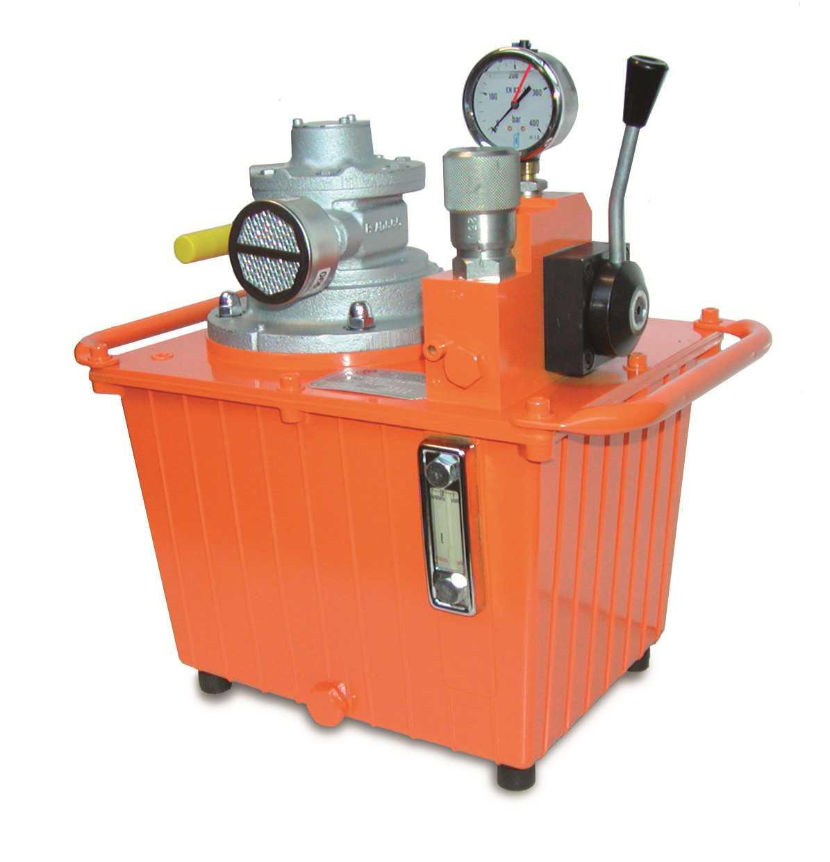 Centrales à moteur pneumatique