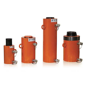 Vérin double-effet à piston lisse retour hydraulique, vérin 700 bars DE.L