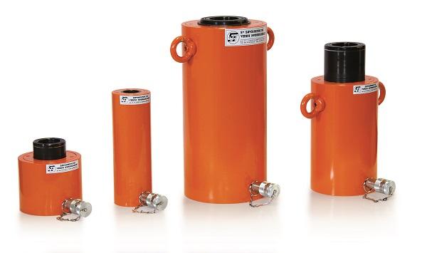 Vérin piston creux 700 bars alliage léger SP.A SPR.A DP.A