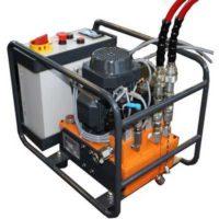 centrale hydraulique semi-automatique
