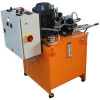 conception centrale hydraulique deux débits, fabricant centrale spécifique
