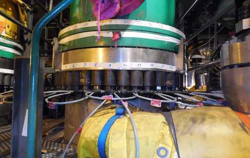 Vérin hydraulique, matériel hydraulique secteur énergie