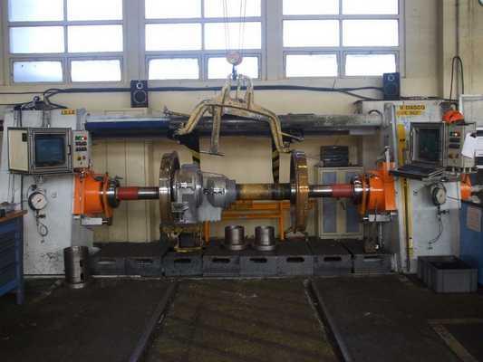 réparation presse hydraulique de calage domaine ferroviaire