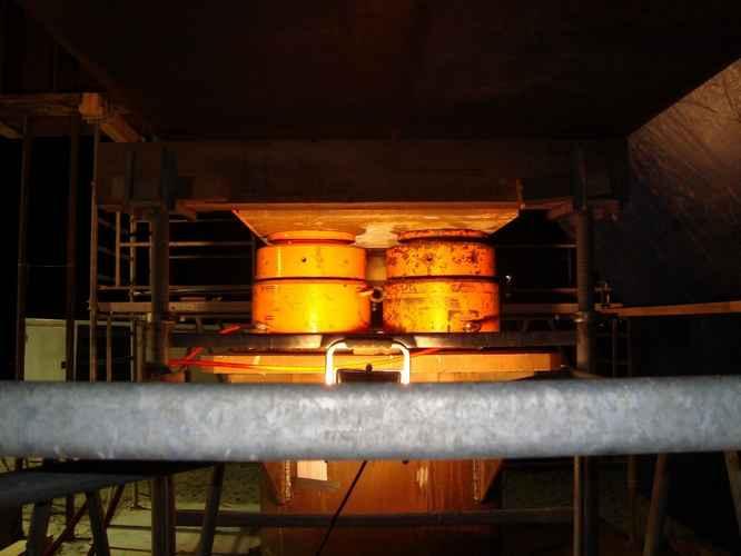 Vérin hydraulique secteur géotechnique 1000T