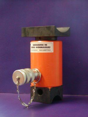 fabrication matériel hydraulique, vérin simple effet téléscopique