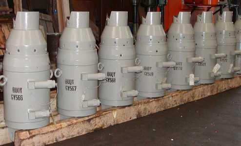 fabrication de vérins hydrauliques spécifiques, domaine offshore